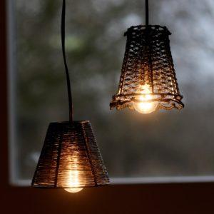 Lampenkapjes van vispluis